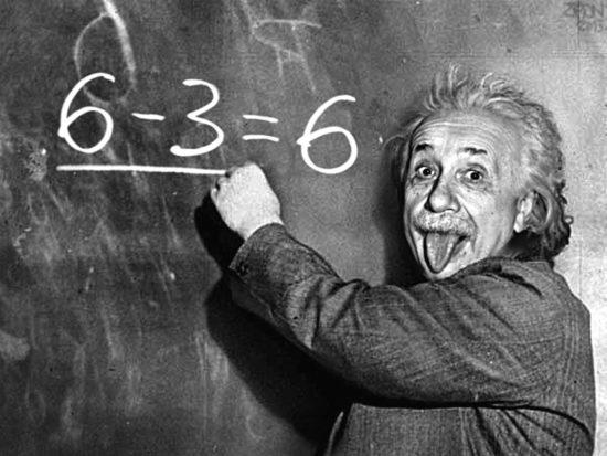 ошибка Эйнштейн