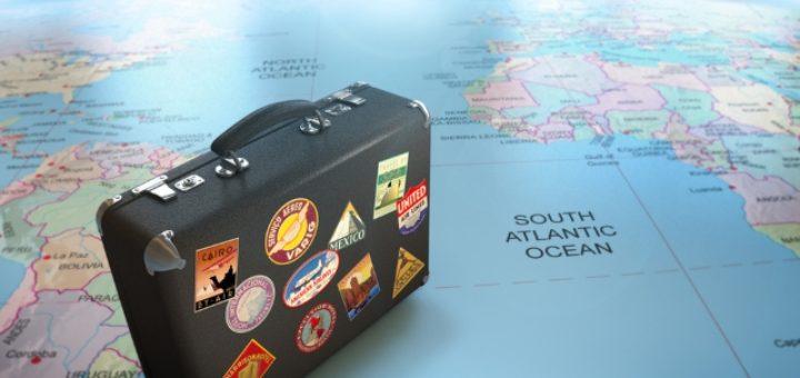 чемодан путешествий